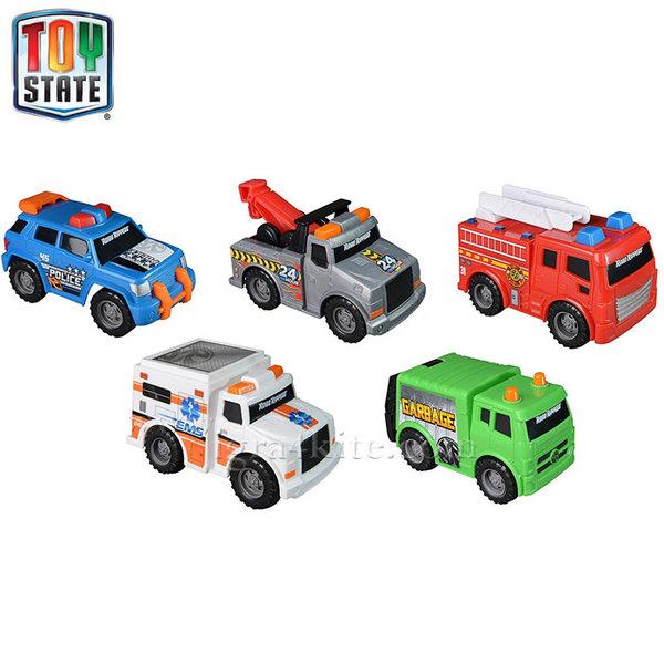 Toy State - Комплект градски коли мини 41401