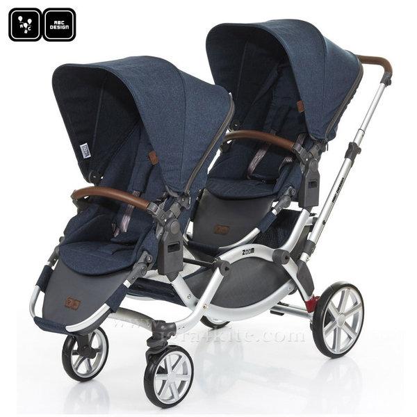 ABC Design - Детска количка за близнаци Zoom admiral 71292705