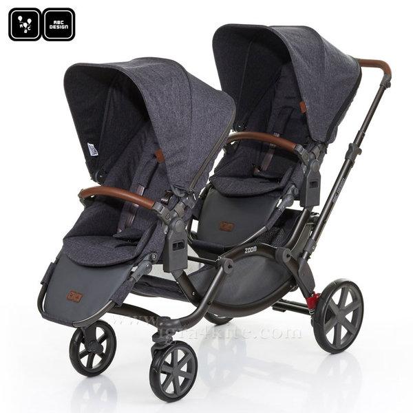 ABC Design - Детска количка за близнаци Zoom street 71292702