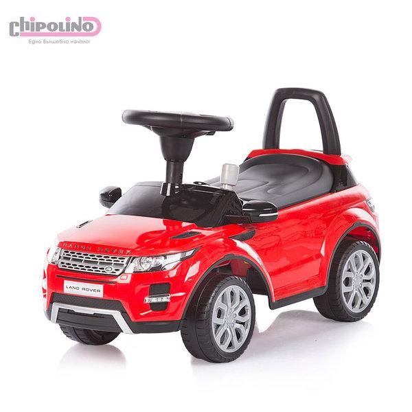 Chipolino - Кола за яздене Land Rover червена