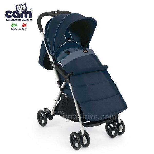 Cam - Детска количка Curvi с покривало за крачета 831/117