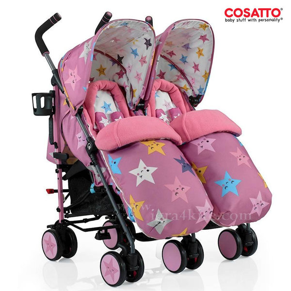 Cosatto - Количка за близнаци Supa Dupa Happy Stars CT3377