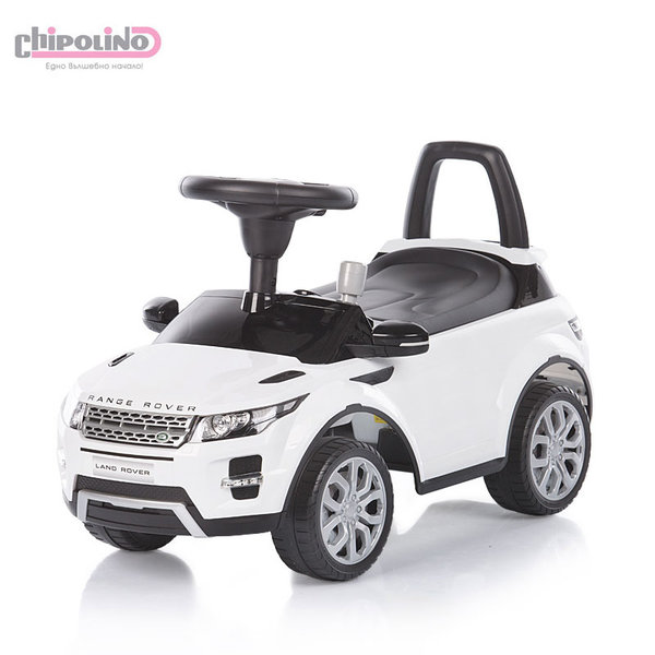 Chipolino - Кола за яздене Land Rover бяла