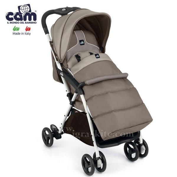 Cam - Детска количка Curvi с покривало за крачета 831/118