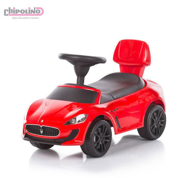 Chipolino - Кола за яздене Maserati Gran Cabrio MC червена