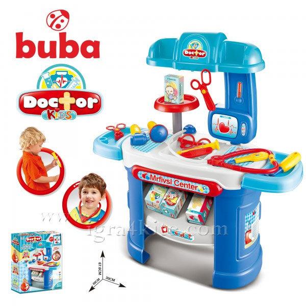 Buba - Детски лекарски комплект 008-913