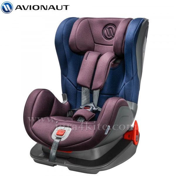 Avionaut - Glider Expedition Isofix столче за кола 9-25кг Ex.04 синьо/лилаво