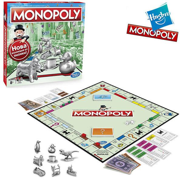 Hasbro Monopoly - Монополи Класик c1009
