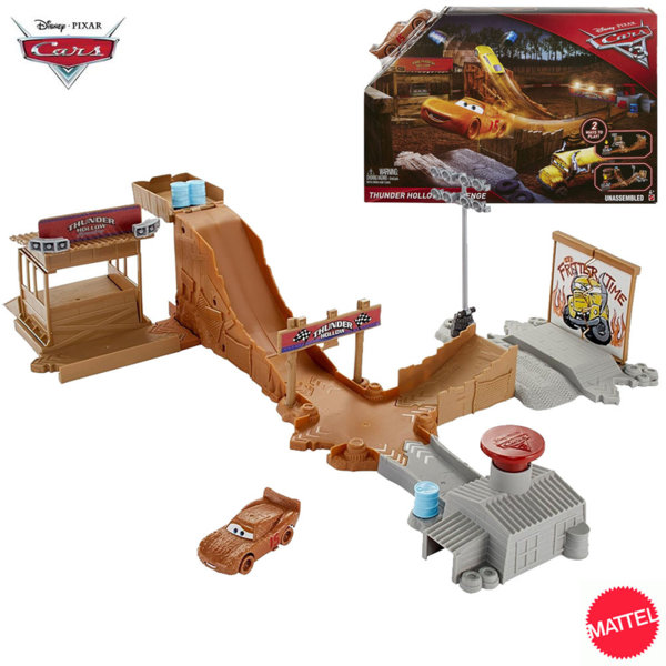 Disney Cars - Писта Колите Thunder Hollow Challenge dvt46