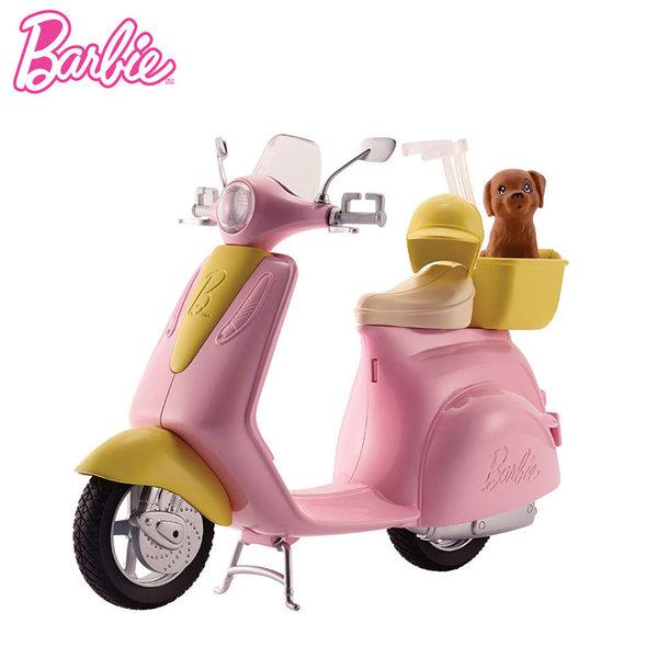 Barbie - Мотопед с домашен любимец dvx56/FRP56