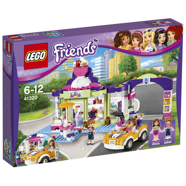 Lego 41320 Friends - Магазин за сладолед Хартлейк
