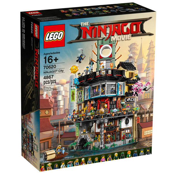 Lego 70620 Ninjago Movie - Нинджаго Сити