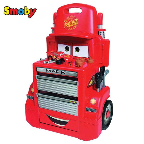 Smoby - Disney Cars Сервиз на колела Mack Truck 360208
