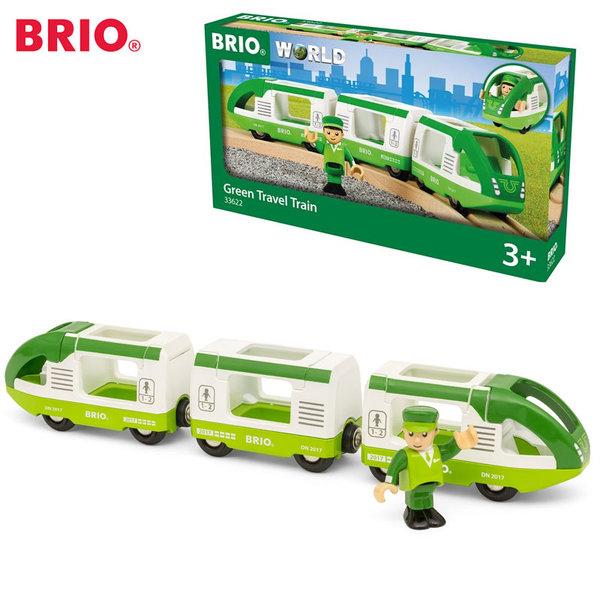 Brio - Дървен пътнически влак 33622