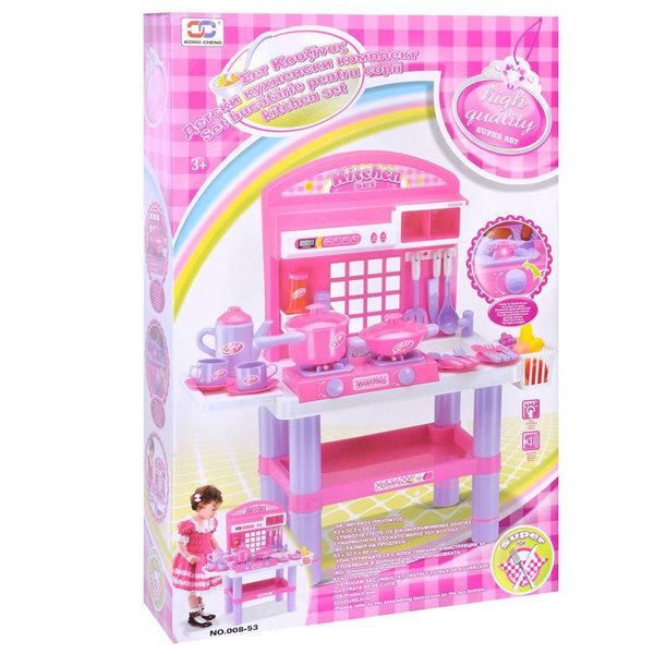 Детска кухня със звук и светлина 008-53