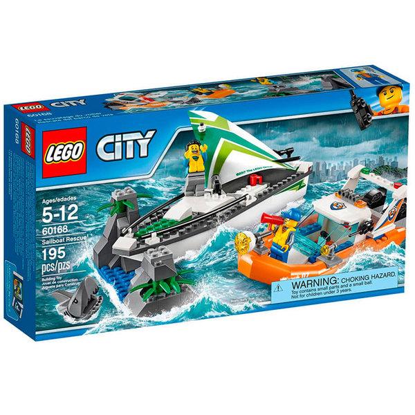 Lego 60168 City - Спасение на платноходка