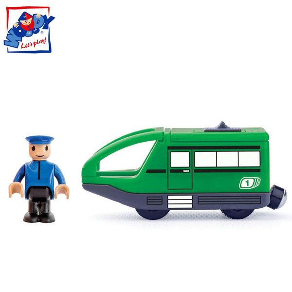 Woody - Локомотив с батерия и машинист 91907