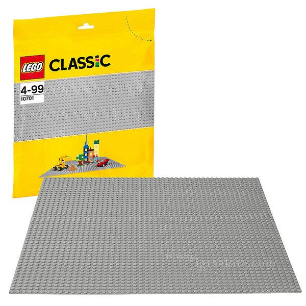 Lego 10701 Classic - Сива основна плочка 48х48