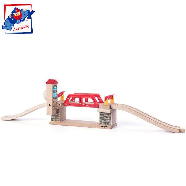 Woody - Дървено влакче Подвижен мост 91870