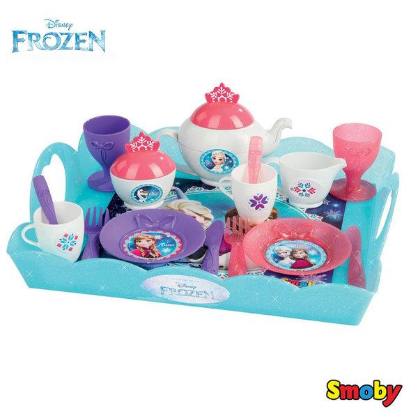 Smoby - Замръзналото кралство Сервиз за чай 310558