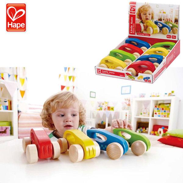 Hape - Детска дървена количка H0057