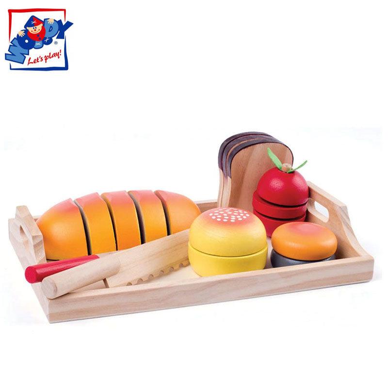 ab1daa17be2 Woody - Дървени продукти за рязане Закуска 91904 - Детски играчки от  igra4kite.com