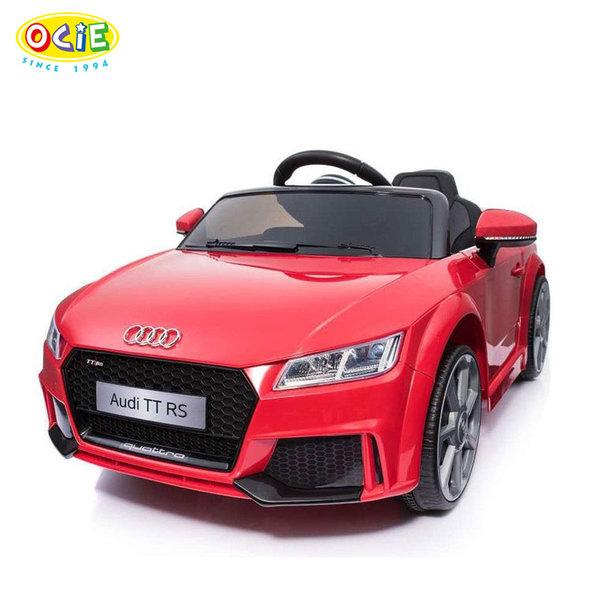 Ocie - Акумулаторна кола Audi TT с дистанционно управление червена 8010244