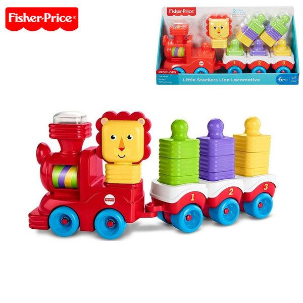 Fisher Price - Влакче с формички за подреждане DRG33
