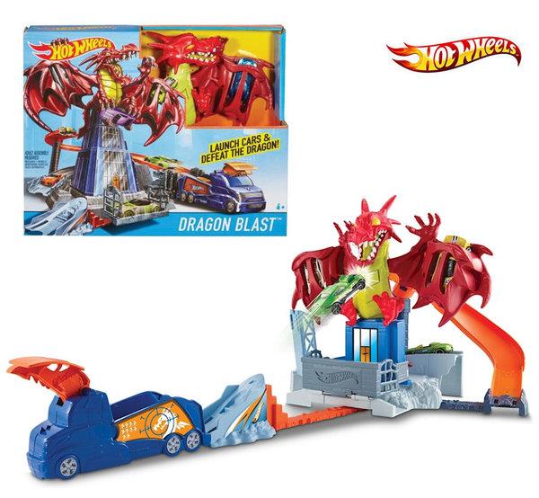 Hot Wheels - Игрален комплект Дракон DWL04