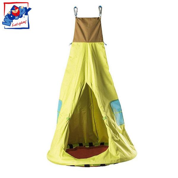 Woody - Детска люлка Къщичка 91862