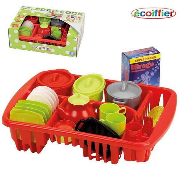Ecoiffier - Детски сервиз Pro cook 1210