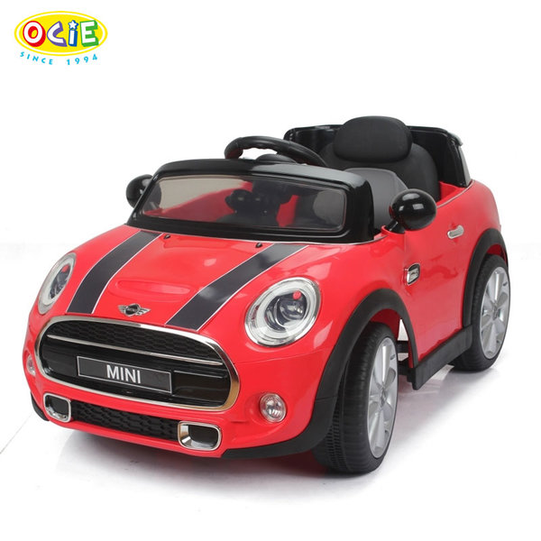 Ocie - Акумулаторна кола Mini Cooper с дистанционно управление червена 8010226