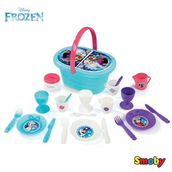 Smoby - Замръзналото кралство Кошница за пикник 310556