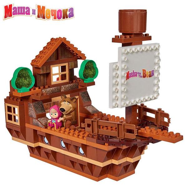 1BIG Маша и Мечока - Конструктор Кораба на Мечока, 159 части 57107