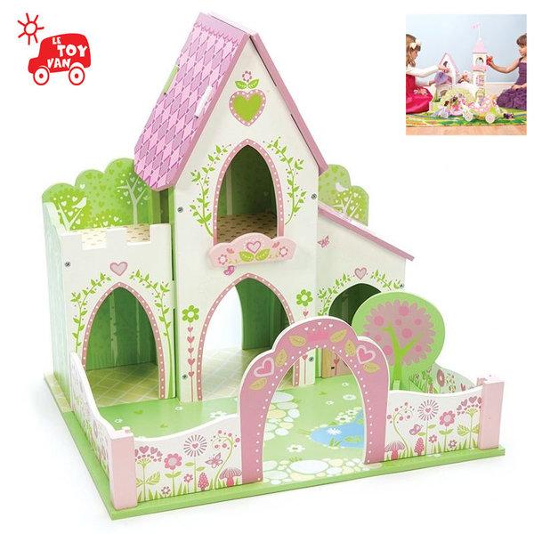 Le Toy Van - Дървенa къща за кукли Вълшебен замък tv643