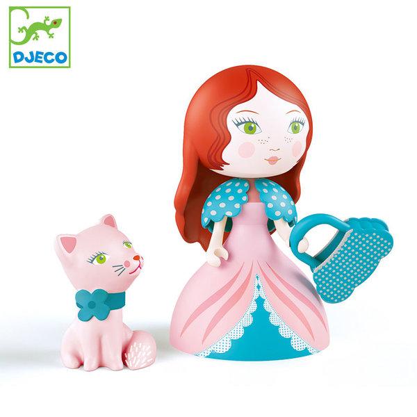 Djeco - Фигурка принцеса Роза и коте DJ06777