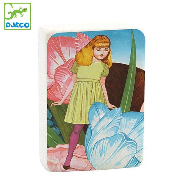 Djeco - Lovely paper Гума за моливи Федора 03534