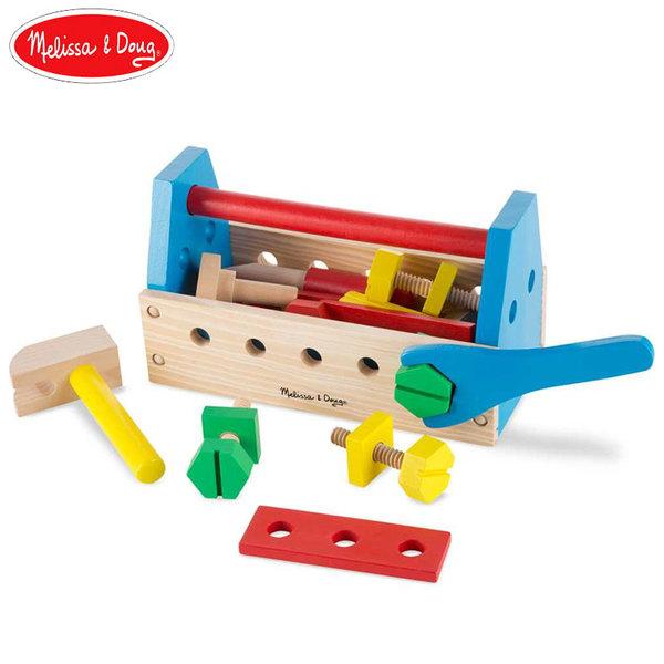 Melissa&Doug - Дървени инструменти в кутия 10494
