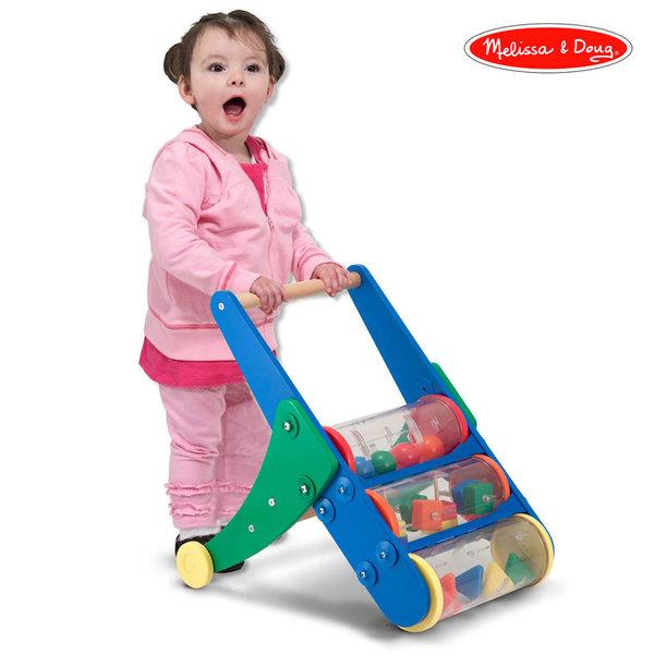 Melissa&Doug - Дървена играчка за прохождане 13077
