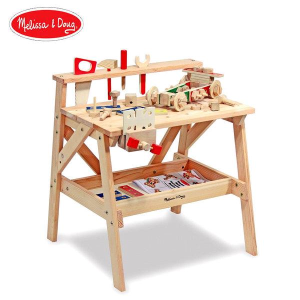 Melissa&Doug - Детска дървена работилница с инструменти 12369