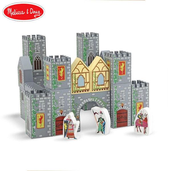 Melissa&Doug - Дървени кубчета Рицарски замък 10532
