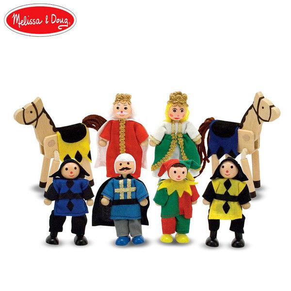 Melissa&Doug - Дървени фигурки Кралство 10285