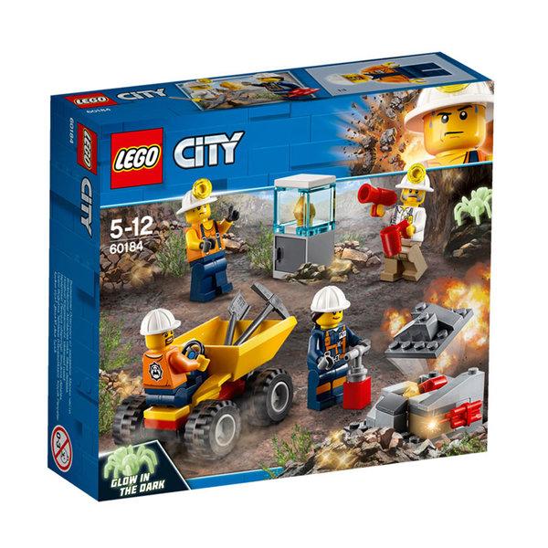Lego 60184 City - Миньорски екип