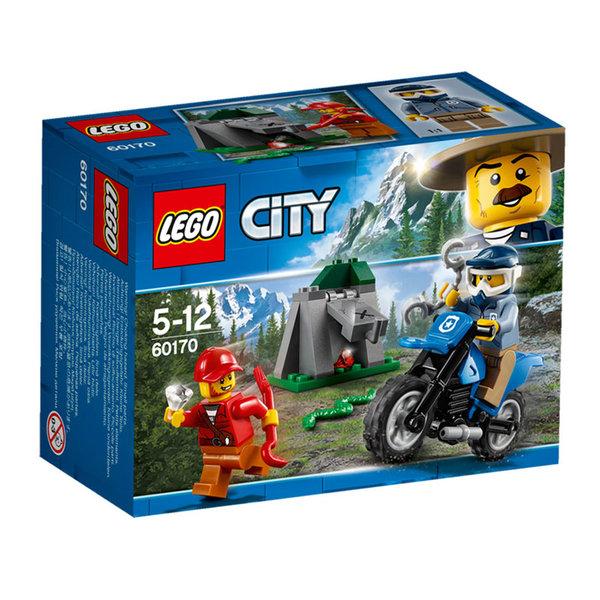 Lego 60170 City - Офроуд преследване