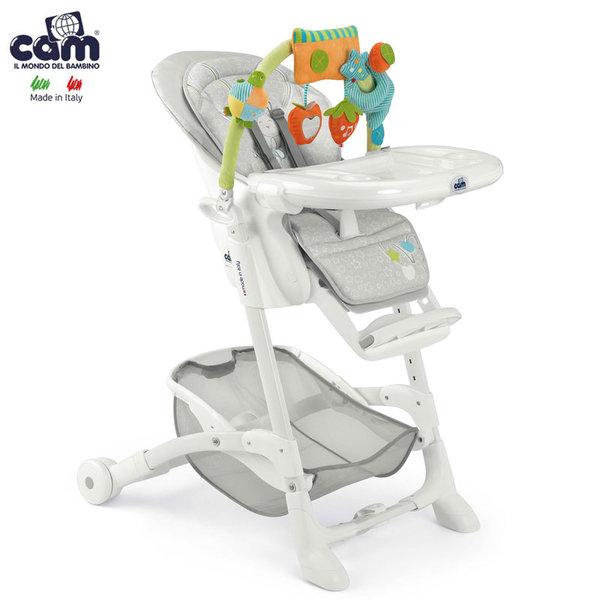 Cam - Стол за хранене 2в1 с арка с играчки Istante S2400/226