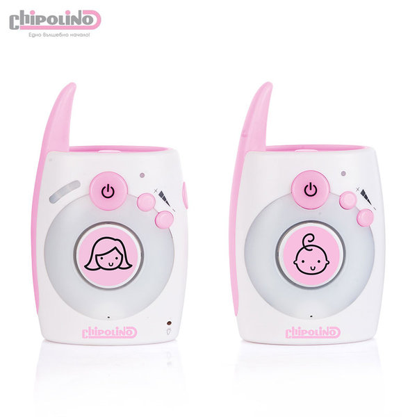 Chipolino  - Дигитален бебефон Астро розов