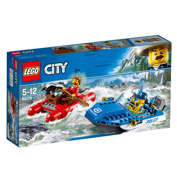 Lego 60176 City - Бягство по дивата река