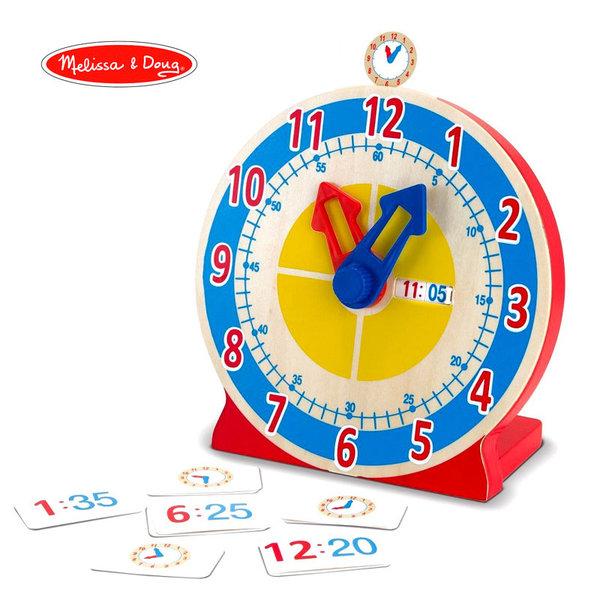 Melissa&Doug - Дървен часовник 14284