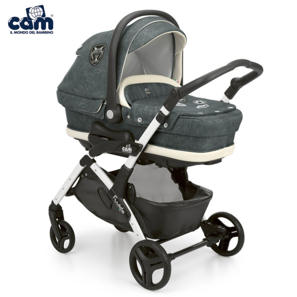 Cam - Модулна бебешка количка 3в1 Fluido City Top 877Т/708
