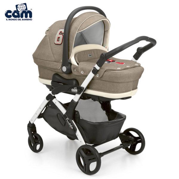 Cam - Модулна бебешка количка 3в1 Fluido City Top 877Т/707